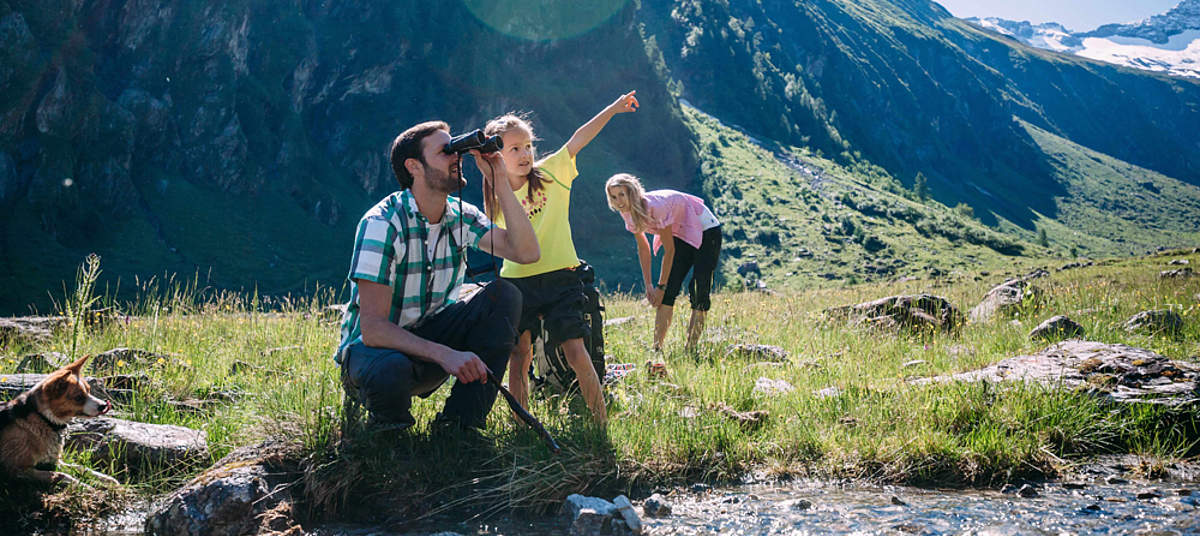 Holiday in the Hohe Tauern National Park     © Ferienregion Nationalpark Hohe Tauern