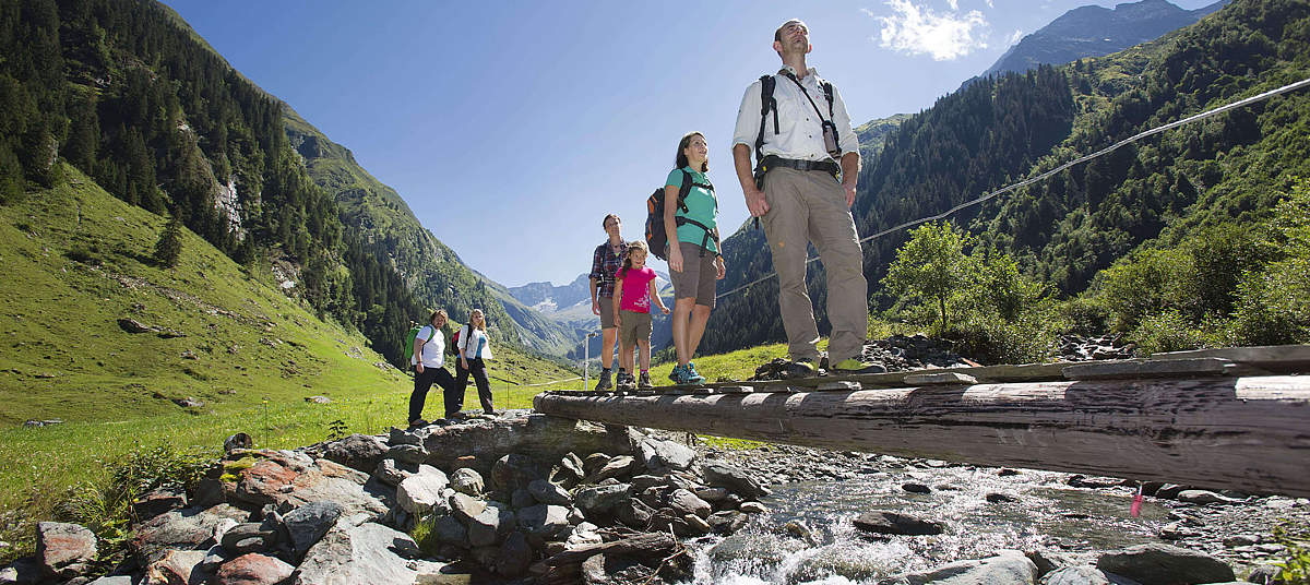 Zomer en winter holiday in de nationaal park Hohe Tauern / SalzburgerLand     © Ferienregion Nationalpark Hohe Tauern / NPHT