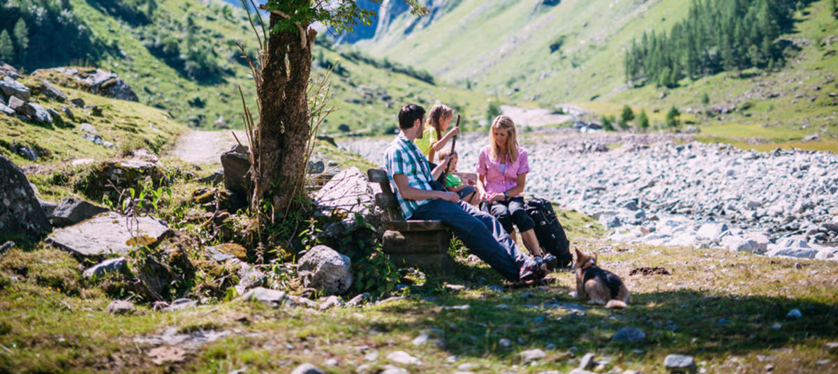 Holiday in the Hohe Tauern National Park     Ferienregion Nationalpark Hohe Tauern