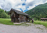 Mountain hut in Kaiserwinkl