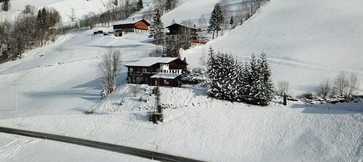 Winterpanorama in Rauris